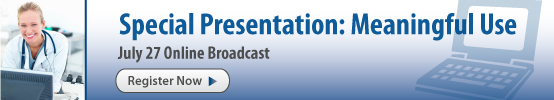 AAPC Special Presentation: Meaningful Use July 27
