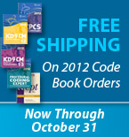 Free Shipping on 2012 Code Book Orders